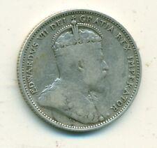 Canada 25 cents 1907 Fine