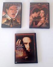 Lot 3 DVD ANTONIO BANDERAS Benito/Original Sin/Interview With the Vampire
