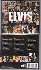 3 CD DIGIPACK ELVIS PRESLEY 39T HISTORIC COLLECTION SONGS & RADIO INTERVIEWS NEW