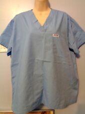 Nursing Medical MOBB Scrubs Top Womens Light Blue Size Medium M