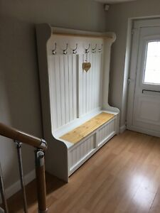 Coat Rack church pew / monks bench/ Various Sizes Available