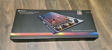 ROCCAT ROC-12-411-BN-AM Vulcan 100 Aimo RGB Mechanical Gaming Keyboard, Silver