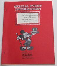 Disneyland 1979 Candlelight Procession & Massed Choir Program, Holiday Festival