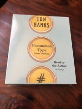 Uncommon Type: Some Stories by Tom Hanks: New Audiobook Brand New