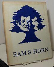 Ram's Horn 77-78 - Mentor Ridge Junior High - Mentor Ohio