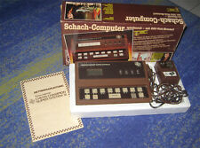 Oggetto DA COLLEZIONE SCACCHI-Computer Chess Champion Super System III 3 80 anni lui