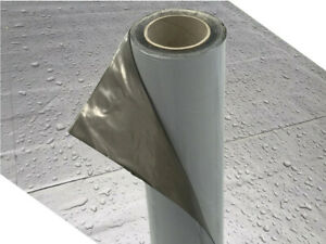 DEMMELHUBER Dachfolie KSK Aluminium selbstklebend grau 5 m² für Flachdachhäuser