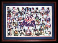 1969 Mets World Series Champs Team Signed Photo Nolan Ryan & Tom Seaver JSA COA
