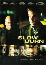Slow Burn ~ LL Cool J Ray Liotta Taye Diggs ~ DVD WS ~ FREE Shipping USA