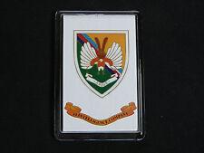 """14 Intelligence Company """"The Det"""" Intelligence Corps crested Fridge Magnet"""