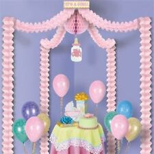 Baby Shower PARTY CANOPY It's a Girl Decoration 20ft x 20ft - New