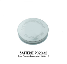 PD2032 Replacement Battery 85mAh for Garmin Forerunner 10 and 15