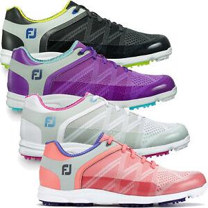 FootJoy Ladies Sport SL Womens Lightweight Mesh Waterproof Spikeless Golf Shoes