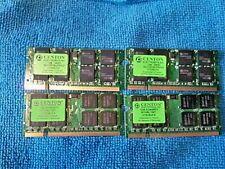 SLOT MACHINE RAM JIYS38UFA CENTON 1GB DDR2 PC2-5300 667MHZ ╬ LAPTOP MEMORY QTY 4