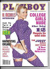 Back Issue October 2002 Playboy Magazine ~ Terri Harrison Big 12 ~ FINE