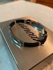 Mens Bracelet Exb636-M19 Zancan Stainless Steel Black/Silver