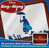Disney : Mary Poppins Sing-Along (CD + Lyric Book)