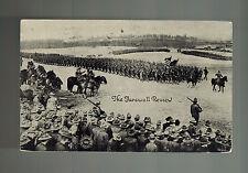1918 Battle Creek MI US Army Final Review Postcard Cover Mexico Revolution