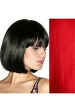 Sexy Shoes Incognito Red Short Bob Costume Wig with Bangs