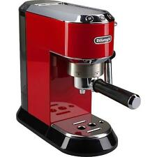 De'Longhi EC680.R Dedica Coffee Machine with 15 Bar Espresso Pump - Red