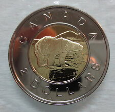 2006 CANADA TOONIE PROOF-LIKE TWO DOLLAR DOUBLE DATE 1996-2006 COIN