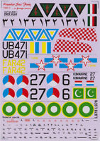Print Scale 48-011 - 1/48 USAF Hawker Sea Fury Part 2, wet decal aircraft