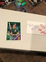 All-star Rookie Mark McGwire 1988 Topps Baseball Card #580