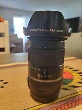 tamron  wide angle, zoom  lense, compatible w/ canon, 16-300 canon