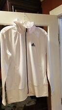 NWT Adidas Women's Core Sweater Full Zip Jacket Medium White