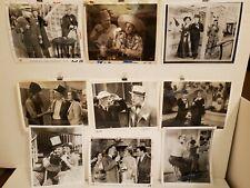 W.C. Fields Vintage 1930s Films Stills from 1950s-1960s Lot of 9