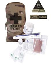 British Army Military Surplus First Aid Kit Bolsa De Viaje Multicam Pouch combatir Nuevas