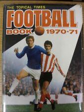 Libro De Fútbol 1970/1971 tiempos tópico: No.12 - Tapa Dura Con Sobrecubierta (algunos T