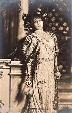 BE559 Carte Photo vintage card RPPC Femme woman Sarah Bernhardt actrice actress