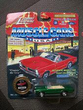 Johnny Lightning 1965 GTO pontiac cabriolet vert MUSCLE CARS USA - G055