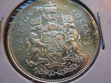 1961 Canada 50 Cent (50¢) 80% Silver - *BU*