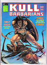 Kull And The Barbarians  No.1   :: 1975 ::   :: First Issue! ::