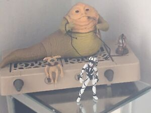 Vintage Star Wars Jabba the Hutt Playset