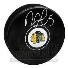 David Rundblad Chicago Blackhawks Signed Autographed Blackhawks Hockey Puck