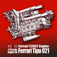 Model Factory Hiro 1/12 Ferrari 126C2 Engine kit