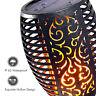 96LED Solar Torch Lamp Light Dancing Flickering Fire Flame Landscape Garden Yard