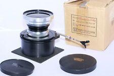 Schneider Super-Angulon 165mm f/8 WA lens in Sinar DB lens board. Sinar, Linhof