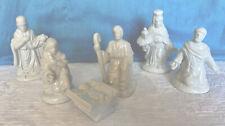 Windsor Collection Six Piece Porcelain Nativity Set