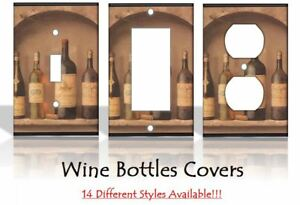Wine Bottles Kitchen Light Switch Covers Home Decor Outlet