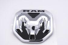 2019 Dodge Ram Chrome Tailgate Ram's Head Emblem Medallion New
