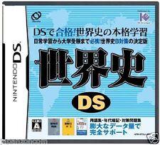 Used DS World History  NINTENDO JAPANESE IMPORT