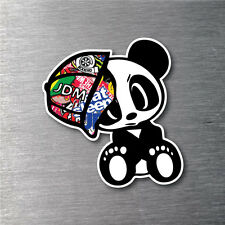 JDM Sticker Bomb drift Panda Sticker 7 year vinyl water & fade proof car  drift