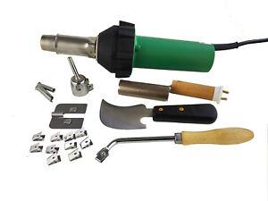 Professional 1600W Plastic Hot Air Gun Heat Gun Welder Pistol Vinyl floor Welder