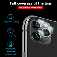 Camera Tempered Glass Screen Film Protector For iPhone 11 Pro / 11 Pro Max PYB