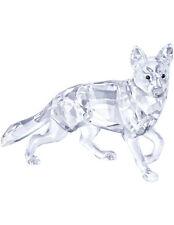 SWAROVSKI GERMAN SHEPHERD DOG BRAND NEW IN BOX #5135912 CUTE CRYSTAL CLEAR F/SH