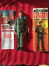 VINTAGE ACTION MAN 40TH ANNIVERSARY BOXED ACTION SOLDIER SECOND ISSUE MINT!